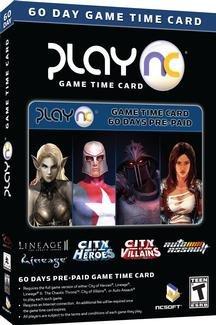 PlayNC 60 day Time Card Lineage 2 Tabula Rasa CoH CoV  15-30 Minute Delivery