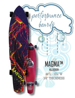 Longboard - Magma Longboard - Performance Board KL0009