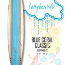 Surfboard - Blue Coral Classic (Longboard) KSF008-2