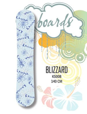 Snowboard - 140cm Blizzard by Kahuna Creations