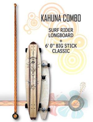 "Kahuna Combo: Surf Rider Longboard + Big Stick Classic 6' 0"""