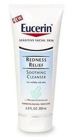 Three ~ Eucerin REDNESS Relief Soothing Cleanser 6.8 oz