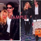 Pamela Anderson & Tommy Lee 1995 Heathrow