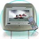 "Car Headrest DVD Player - 7"" TFT - FM Transmitter Audio"