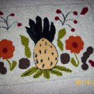 Hook pineapple rug