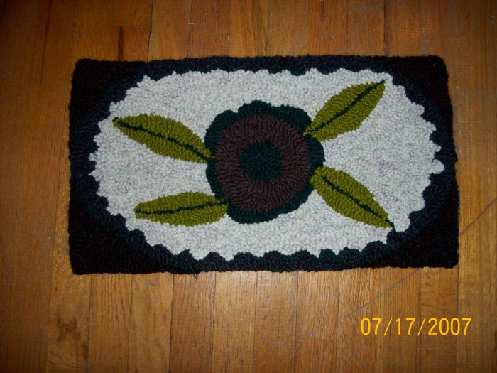 Hook rugs