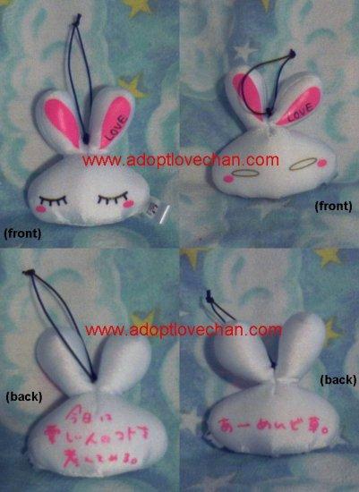 "Ai Otsuka Two Stuffed Plush LOVE-Chan 3"" Heads"