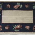 Fruit Rug Apples Cherries Pears Kitchen Mat