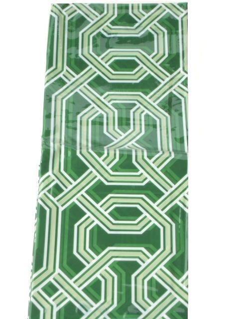 Geometric Shower Curtain Pottery Barn Green Contemporary