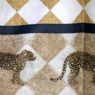 Leopards Fabric Shower Curtain Safari Bath Decor