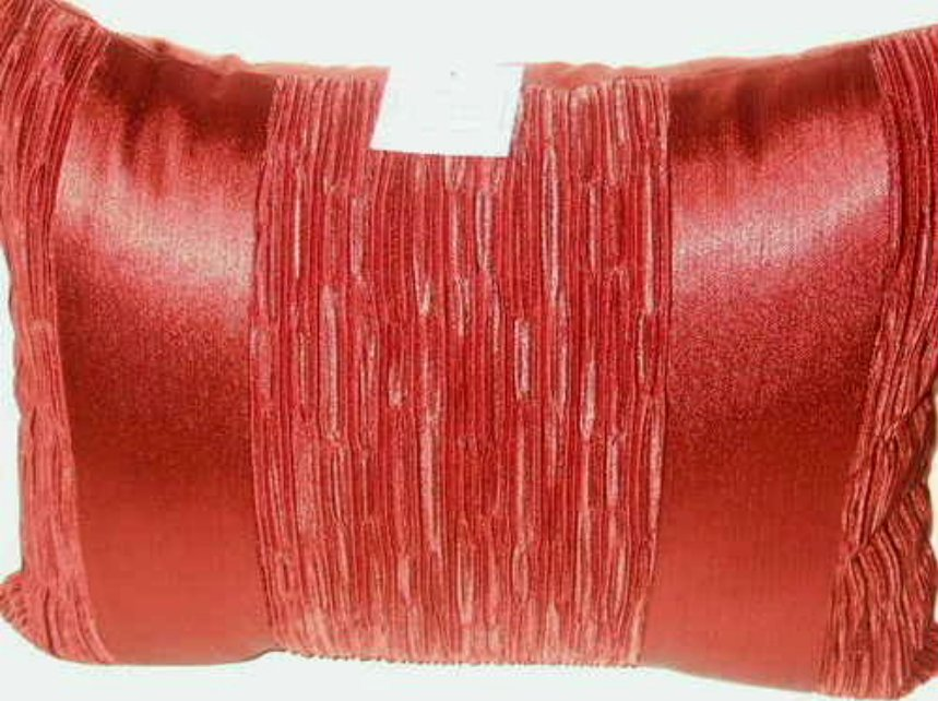 Brick Red Boudoir Pillow Croscill