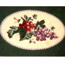 Grape Placemats Grapes Themed Kitchen Linens
