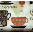Cappuccino Latte Espresso Coffee Cups Tablecloth