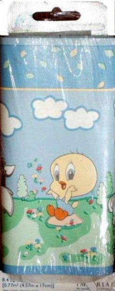 Tweety Bird and Sylvester Wall Border Wallpaper