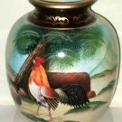 Country Rooster Ceramic Vase