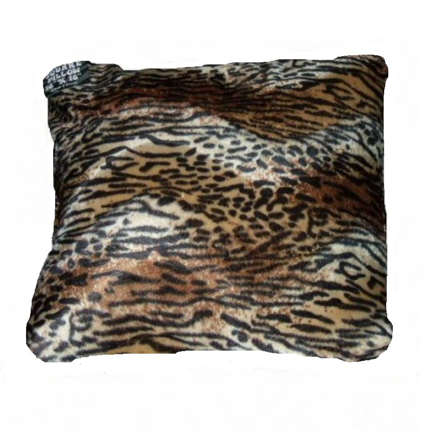 Animal Prints Pillow Faux Fur African Safari Decor