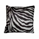 Zebra Stripes Toss Pillow African Safari Jungle Decor
