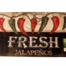 Hot Peppers Kitchen Rug Red Green Jalapenos Comfort Mat