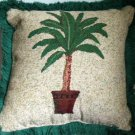 Palm Tree Pillow Tapestry Tropical Decor