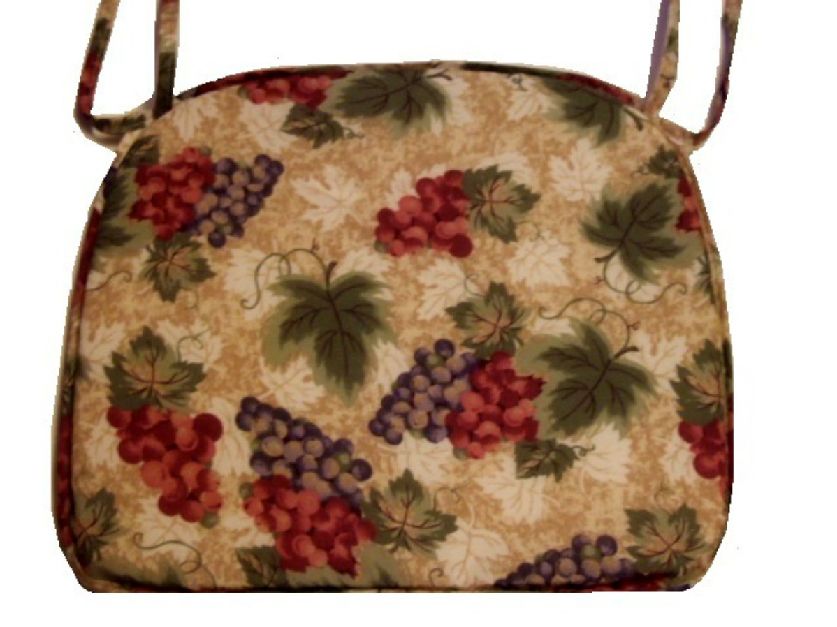 Tuscan Themed Grapes Chair Pads Cushions