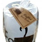 Cup of Coffee Candle Holder with Gift Tag