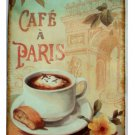 Cafe Paris Plaque French Wall Decor