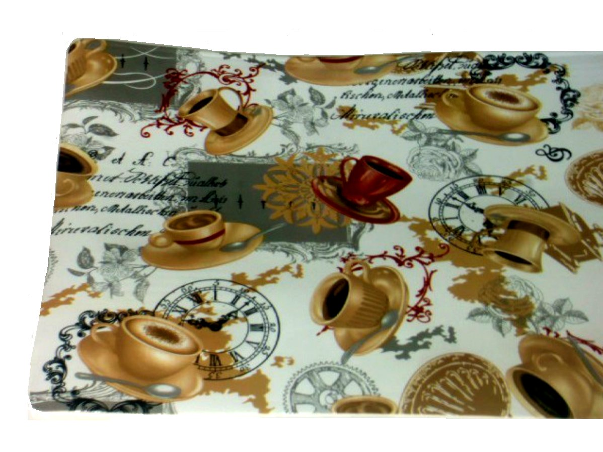 Steampunk Coffee Cups Placemats Set