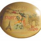 Eiffel Tower Paris French Decorative Plate