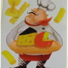 Fat Chef Wall Stickers Decals