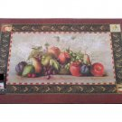 Fruit Themed Apples Grapes Mat