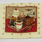 Coffee Themed Kitchen Towels Set