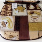 Coffee Themed Decorative Kitchen Chair Pads Cushions