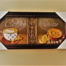 Coffee Cups Espresso Cafe Kitchen Wall Decor