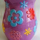 Crazy Daisy Waste Basket Ceramic