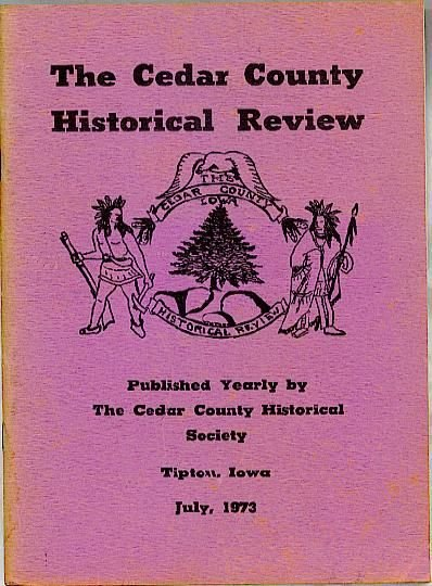 IOWA Cedar County Historical Review 1973 limited edition Telephone Signal Codes