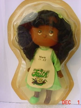 Doll Faith 1984 Black/Brown Doll NEW un-opened Scented Praise Doll