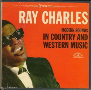 MUSIC Ray Charles Country and Western vintage Tape, I can't  Stop Loving You is 4:13 minutes long
