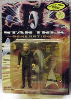 Dr. Soran Star Trek Generations Action Figure Playmates
