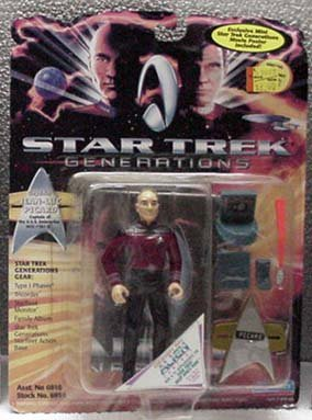 Picard Star Trek Generations Action Figure by Playmates