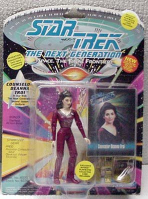 Deanna Troi Star Trek TNG Action Figure Playmates