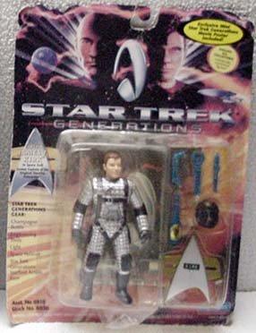 Capt Kirk Star Trek Generations Action Figure by Playmates