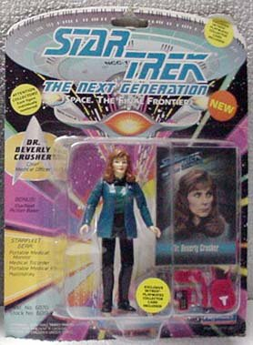 Beverly Crusher Star Trek TNG Action Figure by Playmates