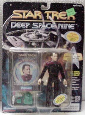 Q Star Trek DS9 Action Figure by Playmates