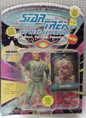 Dathon Star Trek TNG Action Figure by Playmates