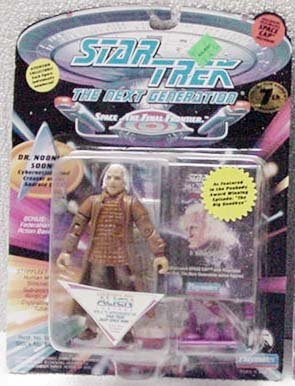 Dr Noonian Soong Star Trek TNG Action Figure by Playmates