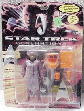 Guinan Star Trek Generations Action Figure by Playmates