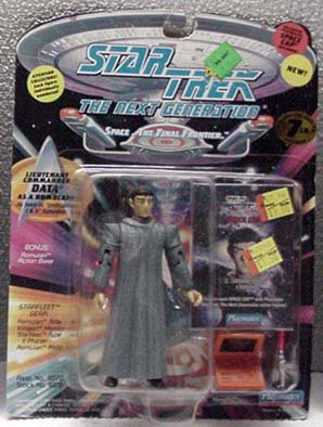 Data as Romulan Star Trek TNG Action Figure by Playmates