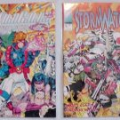 Wildcats #1 + StormWatch #1 - Image Comics 1992