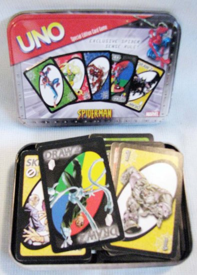 SPIDERMAN UNO DELUXE Card Game