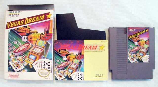 NES VEGAS DREAM Nintendo Video Games MIB